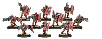 Khador Assault Kommando Unit BOX