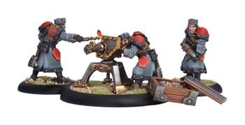 Khador Winterguard Field Gun Crew BLI