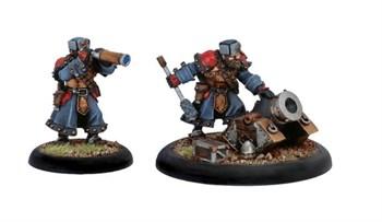 Khador Winterguard Mortar Crew BLI