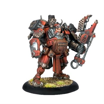 Khador Battle Mechanik Officer Unit BLI