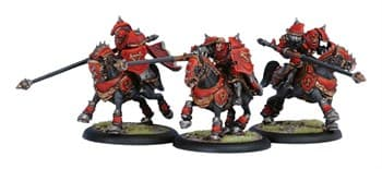 Khador Iron Fang Uhlans Unit BOX