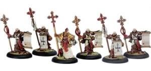 Protectorate of Menoth Choir of Menoth BOX