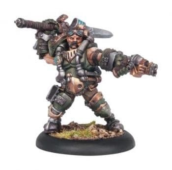 Mercenary Warcaster Drake MacBain BLI