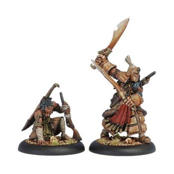 Protectorate Allies Idrian Skirmisher Chieftain and Guide BLI