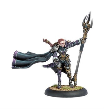 Mercenary Privateer Warcaster Fiona BLI