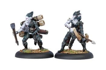 Legion of Everblight Blight Archer & Ammo Porter BLI