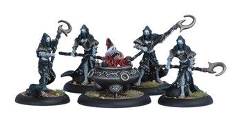 Legion of Everblight Spawning Vessel & Acolyths (5) BLI