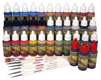 Warpaints Mega Paint Set (36 красок 0 6 кистей)