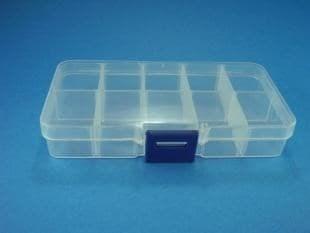 Коробочка для мелочи, 10 отд., 13 х 7 см