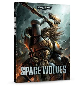 Codex: Space Wolves (HB) English