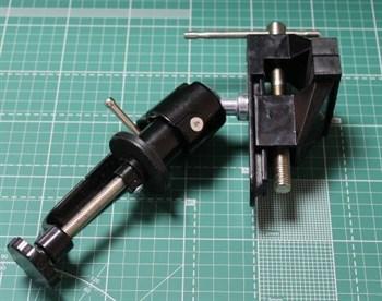 Тиски на шарнире,  струбцина, 50 мм