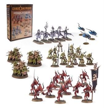 Батальон/ боевой отряд. Демоны Хаоса.(Chaos Daemons Battalion/Battleforce)(новая версия)