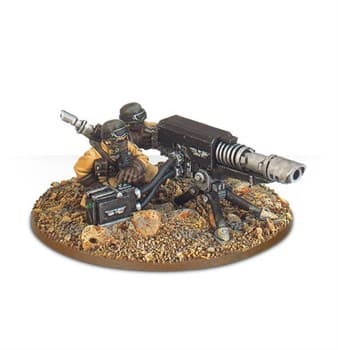 Steel Legion Lascannon