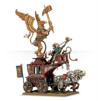Volkmar the Grim on War Altar of Sigmar