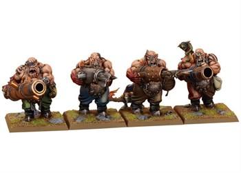 Ogre Kingdoms Leadbelchers