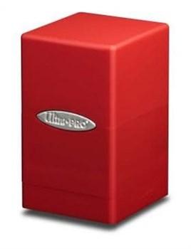 "Коробочка ""Ultra-Pro"": Сатиновая башня: Красная"