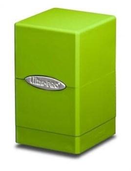 "Коробочка ""Ultra-Pro"": Сатиновая башня: Лимонная"