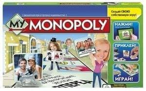 Настольная игра серии Монополии: Моя Монополия