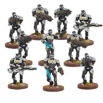 Warpath enforcers strike team