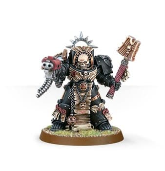Space Marine Terminator Chaplain