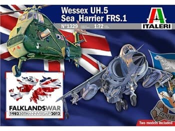 ВЕРТОЛЕТ WESSEX UH.5 и САМОЛЕТ SEA HARRIER FRS.1: