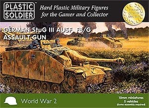 15мм Немецкий Stug III F8/G