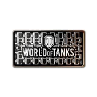 "World of Tanks, значок ""Гусеница"", арт. 1322"