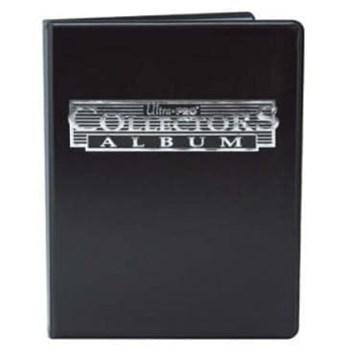"""Альбом """"Ultra-Pro"""" (со встроенными листами по 2x2 кармашка): черный"""