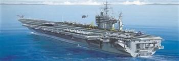 Корабль  U.S.S.  ROOSEVELT CV-71 (1:720)