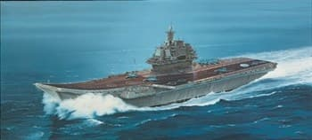 Корабль  Admiral Kuznetsov