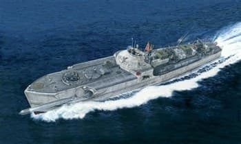 Корабль  SCHNELLBOOT TYP S-100 PRM EDITION (1:35)
