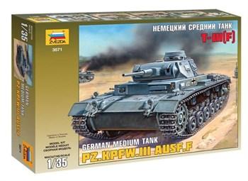 Немецкий танк Т-III (F) (1:35)