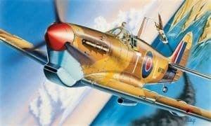 Самолет  SPITFIRE MK.VB (1:72)