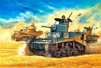 Танк  M3 Stuart Honey (1:35)