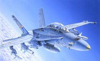 Самолёт  F/A-18C/D WILD WEASEL (1:72)