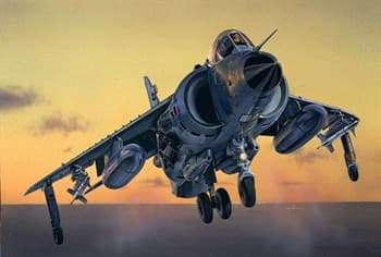 Самолет  FRS.1 SEA HARRIER (1:72)
