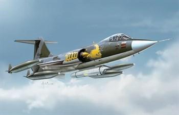 """Самолет  F-104 G """"Starfighter"""" (1:72)"""