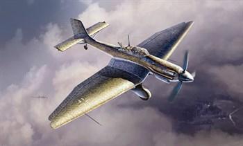 Самолет  JU 87 D-5 STUKA (1:48)