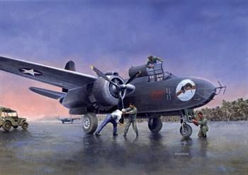 Самолет  P-70a (1:48)
