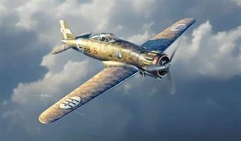 Самолет  Mc.200 Saetta 2a Serie (1:48)