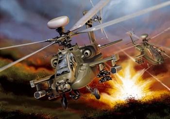 Вертолет  AH-64 D APACHE LONGBOW (1:48)