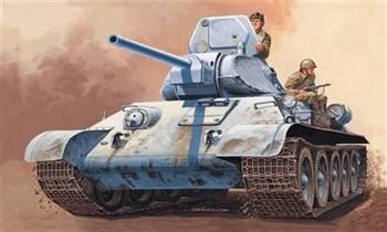 Танк  T 34/76 m42 (1:72)