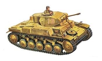 Танк  Pz.Kpfw. II Ausf. F (1:72)