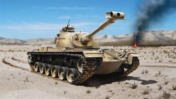 Танк  M48a2c