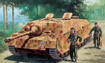САУ  Sd.Kfz.162 Jagdpanzer IV Ausf.F L/48 late (1:35)