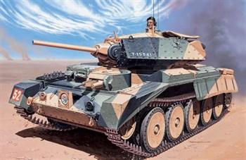 Танк  Crusader Mk.I (1:35)