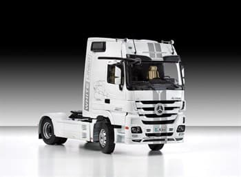 Автомобиль  MERCEDES BENZ Actros 1851 Blackliner MP3 (1:24)