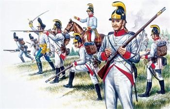 Фигуры  Austrian Infantry (NAP.WARS) (1:72)
