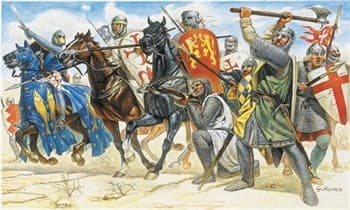 Солдаты  CRUSADERS (11TH CENTURY) (1:72)