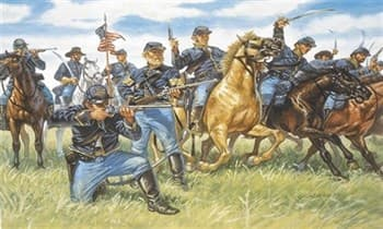 Солдатики Union Cavalry (American Civil War)